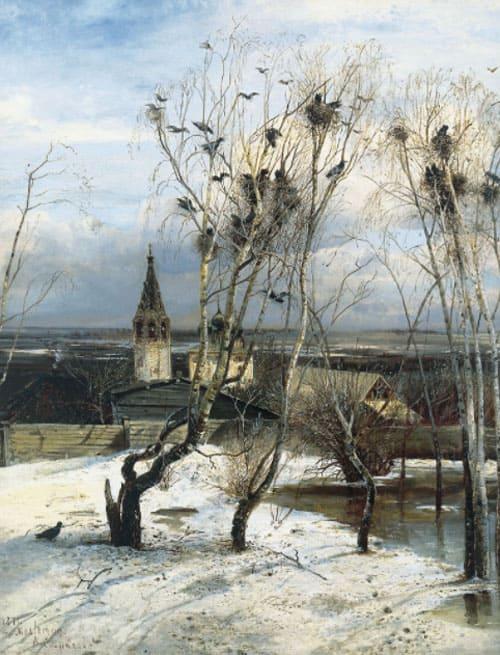 Картина «Грачи прилетели», Саврасов